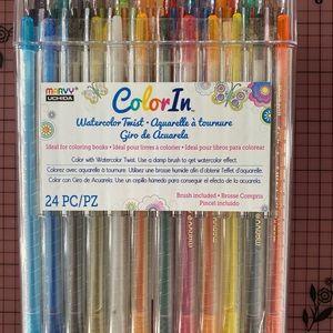 Marvy Color In Watercolor Twist Watercolor pencils
